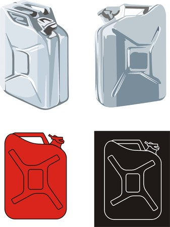 petrol can: can tank for gas