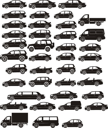 car silhouettes