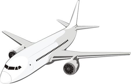 airway: average passenger plane for internal airway