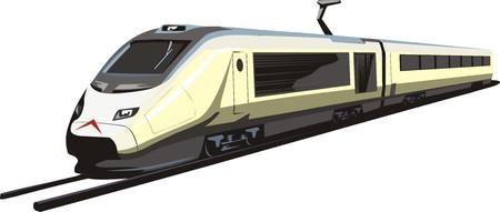 passagierstrein Stock Illustratie