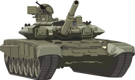 midden tank Stock Illustratie