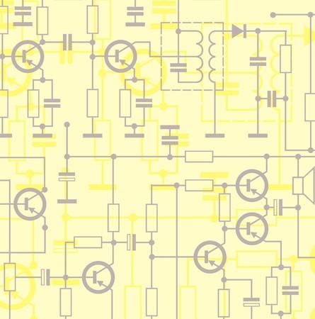 elektronische schakeling achtergrond