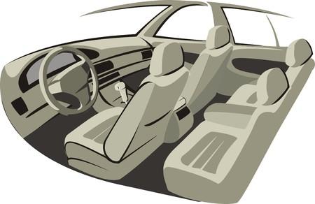 baffle: car trim