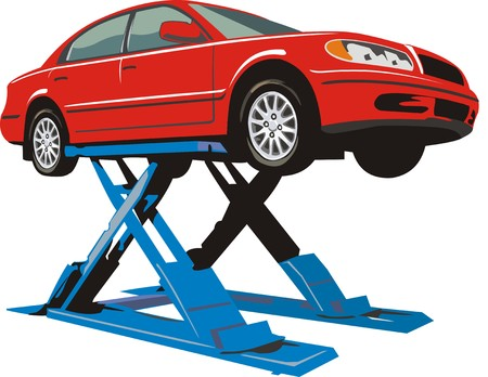 lavaliere: car car on the lift