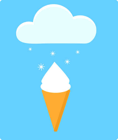 ice cream and cloud