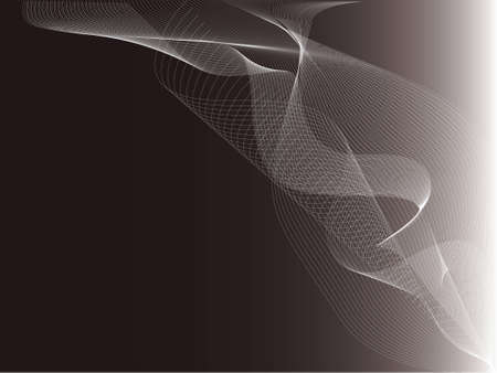 Abstract design background with flowing lines
