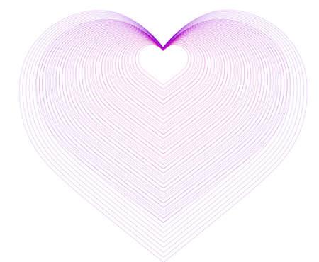 vector illustration -hearts