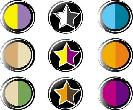 set the palette for professional make-up