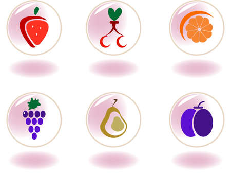 Vegetables, fruits and berries Stock Vector - 4397318