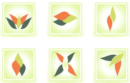 set of  vector-icons - 6 items