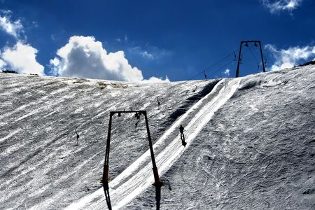 ski resort - Mavrovo, Macedonia photo
