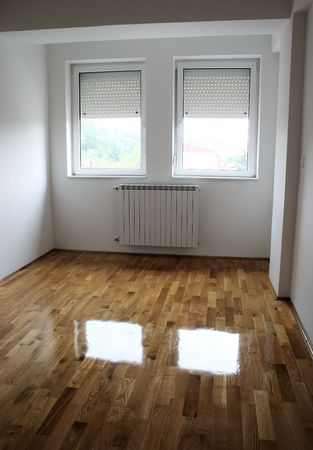 interior desing: interior - empty new apartment Stock Photo