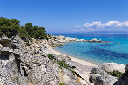 Amazing scenery in Sithonia, Chalkidiki, Greece