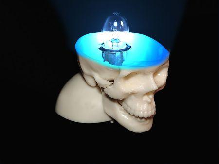 cranium: cranium idea Stock Photo