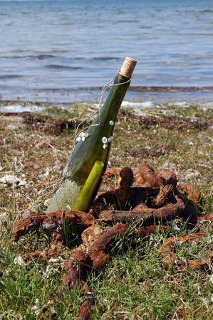 corked: message in the bottle