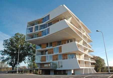 modern house Standard-Bild