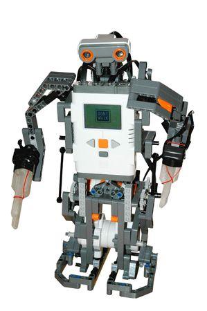 walking robot Stock Photo - 4298673