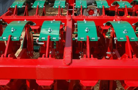 agricultural equipment for fields Stock Photo