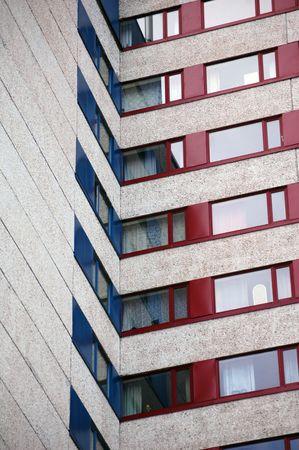 modern architecture detail photo