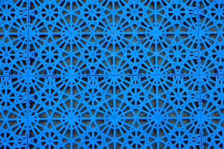 abstract plastic seamless blue pattern