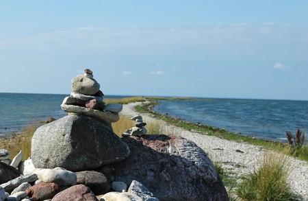seaside with amount of rocks at S��re tirp, Kassari, Hiiumaa, Estonia Stock Photo - 7606877