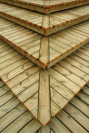 Texture - wooden boards steps Stock Photo - 10264318