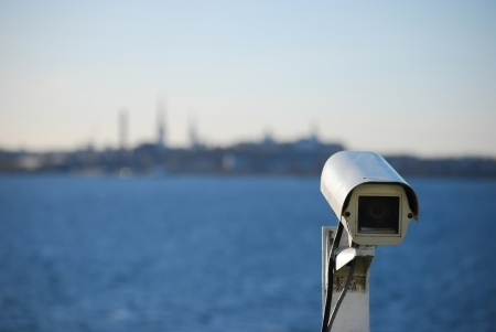 cctv camera on cruise ship
