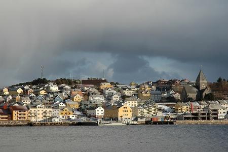 View to Kristiansund, Norway, Scandinavia