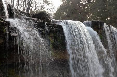 joa: Keila-Joa waterfall in Estonia Stock Photo