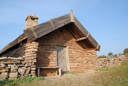 oland: Old boat house of the swedish island Oland.