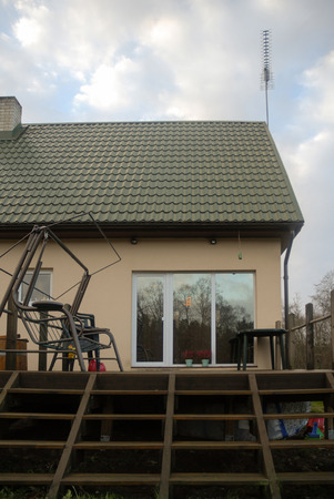part of house with terrace