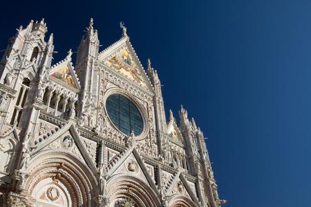 Siena, January 2017:  Medieval church