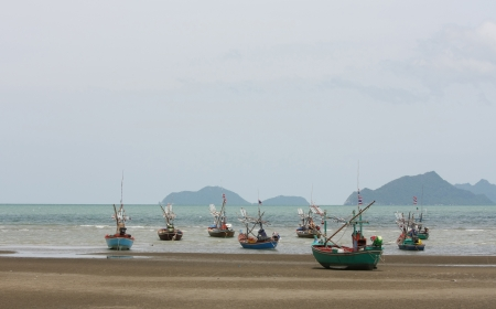 fisheries: Fisheries in the old style of thailand