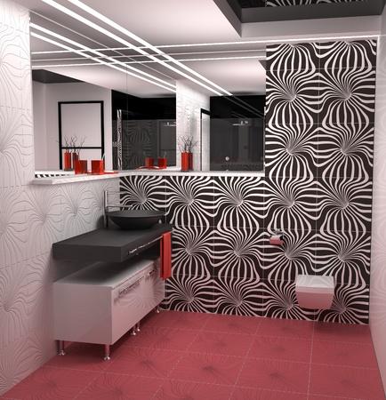 Nice bathroom in modern flat Stock Photo - 8726421