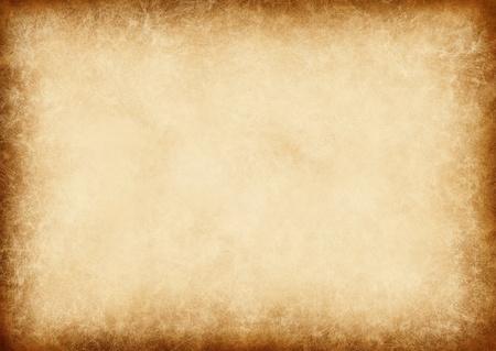 gebrannt: altes Papier