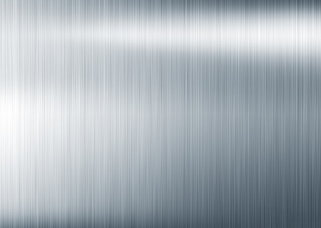 brushed aluminium: metal background