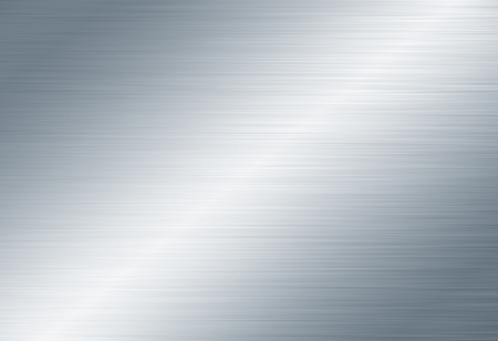brushed aluminum: metal background