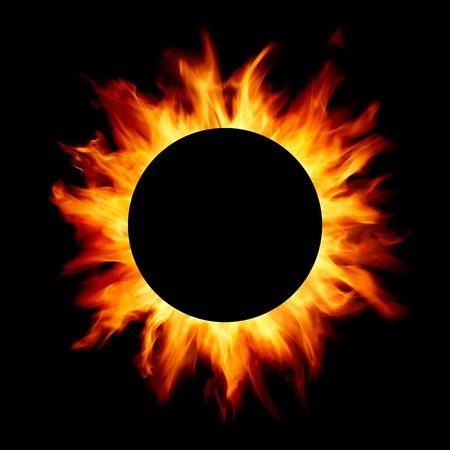 blazing: solar eclipse