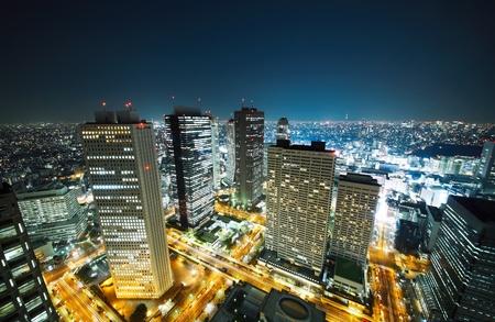 Tokyo Skyline Zdjęcie Seryjne