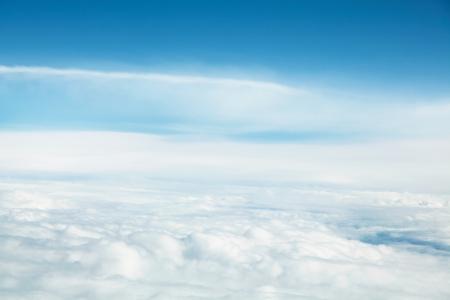 パノラマ Cloudscape 写真素材