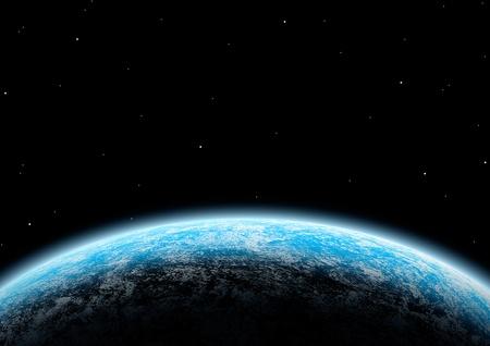惑星 写真素材