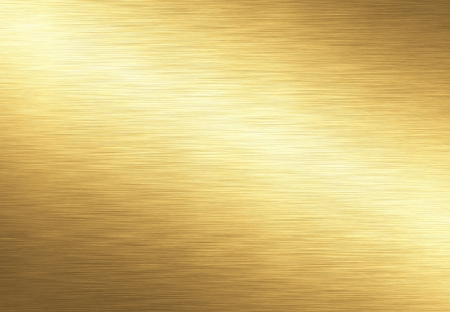 gold metal background Stock Photo - 14187836