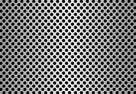 perforated metal background photo