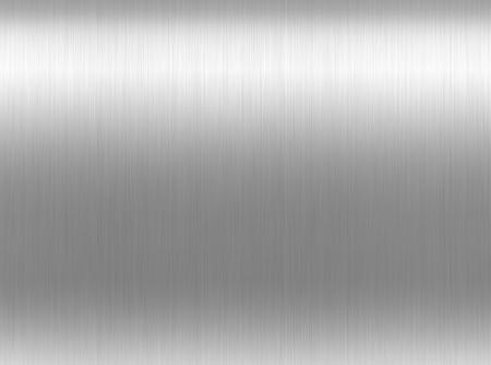 brushed aluminum: metal background