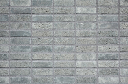 Concrete block wall photo