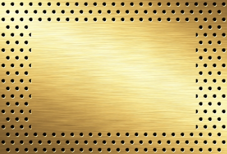 gold background: metal background