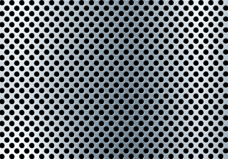 punched metal surface: perforated metal background