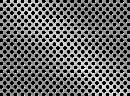 aluminum plate: perforated metal background