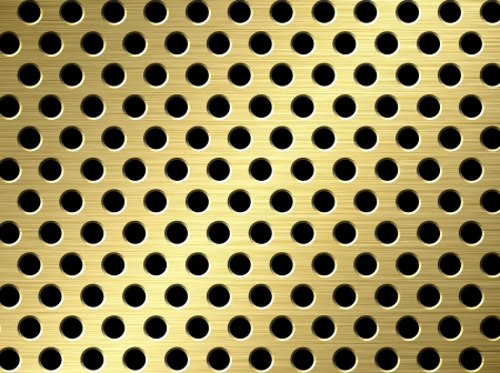 perforated surface: perforated metal background