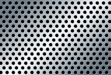 perforated metal background Stock Photo - 17033433